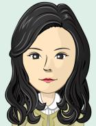 ホン先生の似顔絵